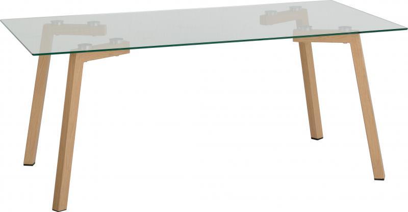 Morton Coffee Table - Clear