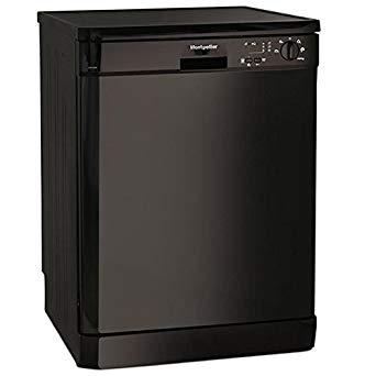 Montpellier Dishwasher Black DW1254K