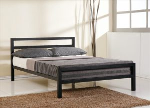 Eaton Metal Bed – Black