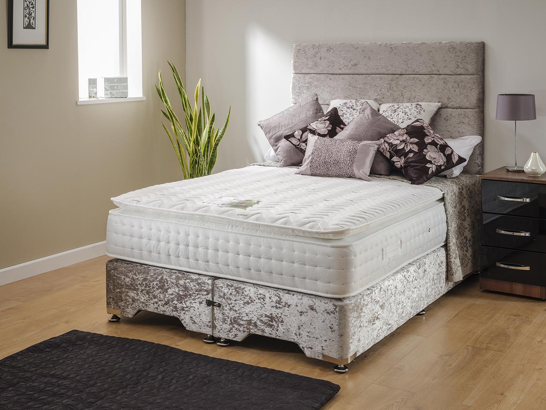 Mayfair Memory Pillow Top Divan Bed