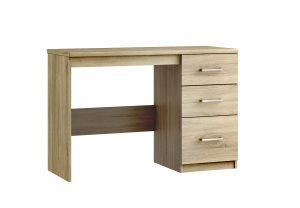 Modena Single Pedestal Desk – Bardolino Oak