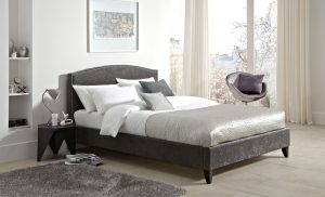 Charlotte Upholstered Fabric Bed