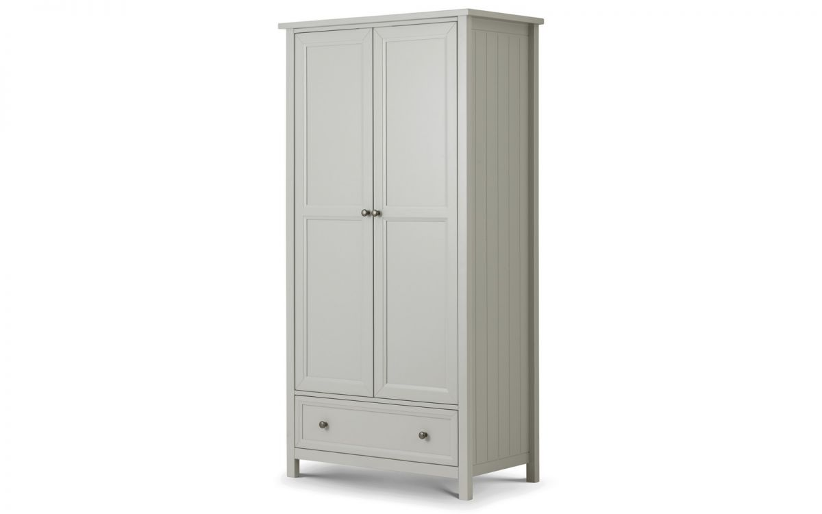 Maine Combi Wardrobe - Dove Grey