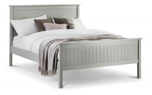 Maine Double Bed – Dove Grey