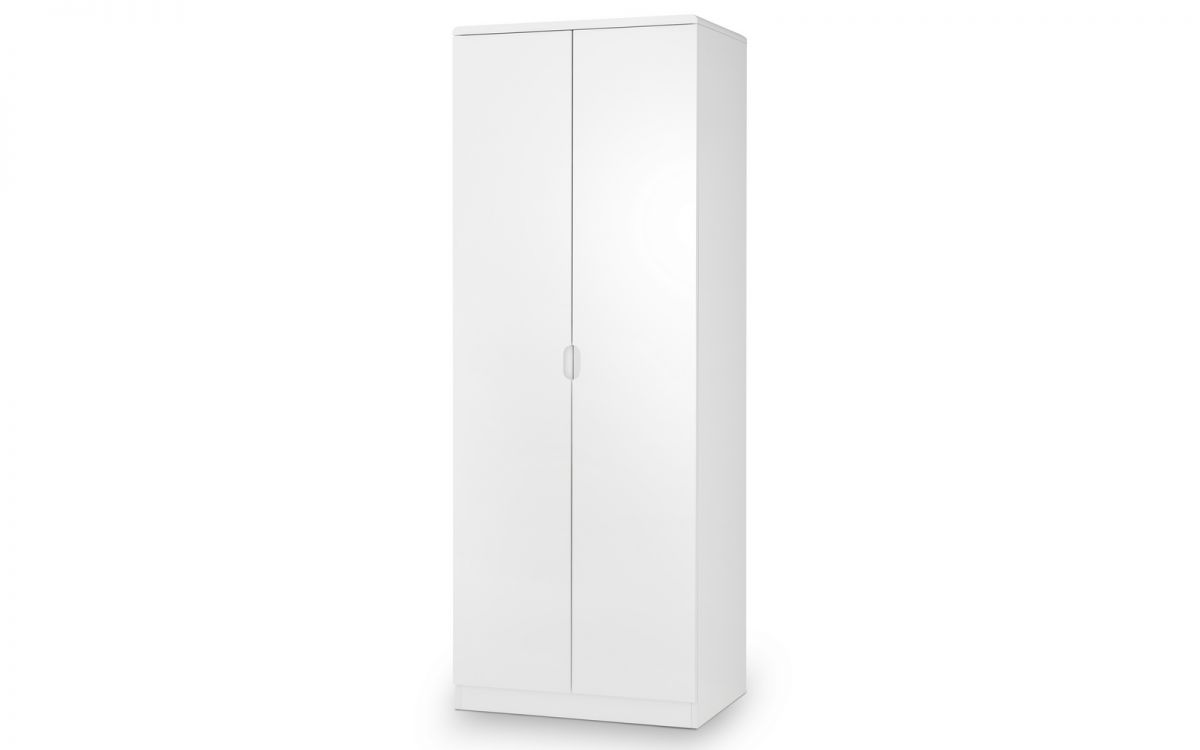 Manhattan Wardrobe - White Gloss