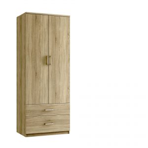Modena 2 Drawer Tall Gents – Bardolino Oak
