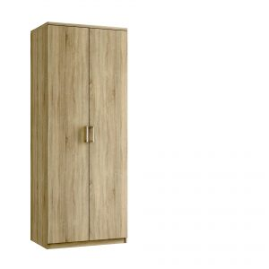 Modena Tall Double Wardrobe – Bardolino Oak
