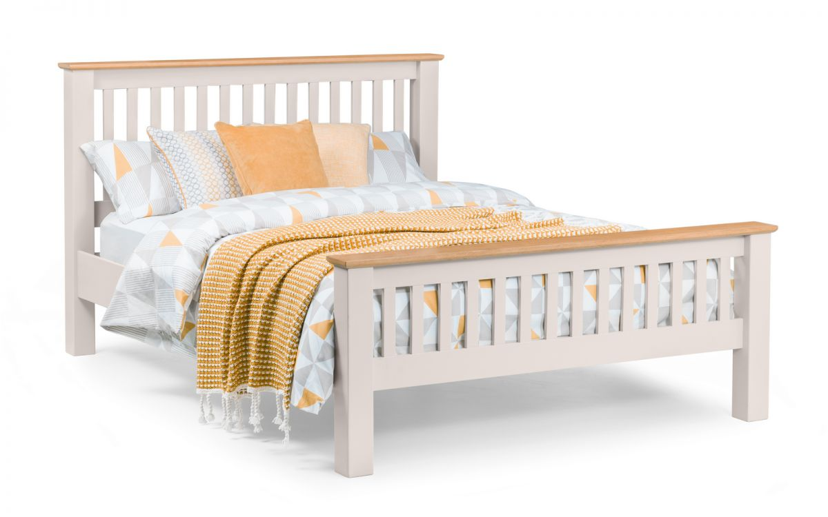 Richmond Double Bed - Grey