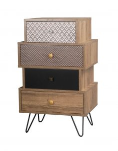 Casablanca 4 Drawer Chest