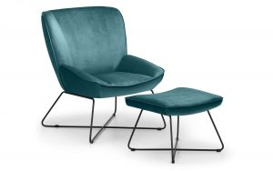 Mila Accent Chair – Teal