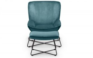 Mila Accent Chair - Teal