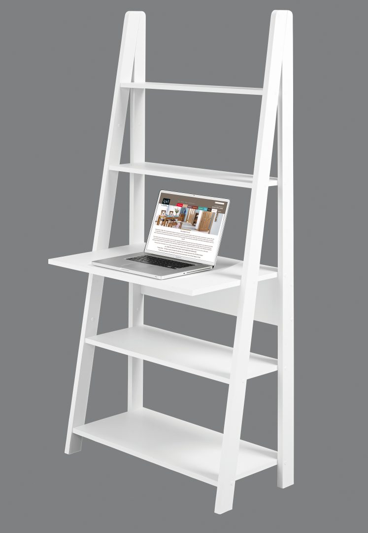Tiva Shelving With Desk