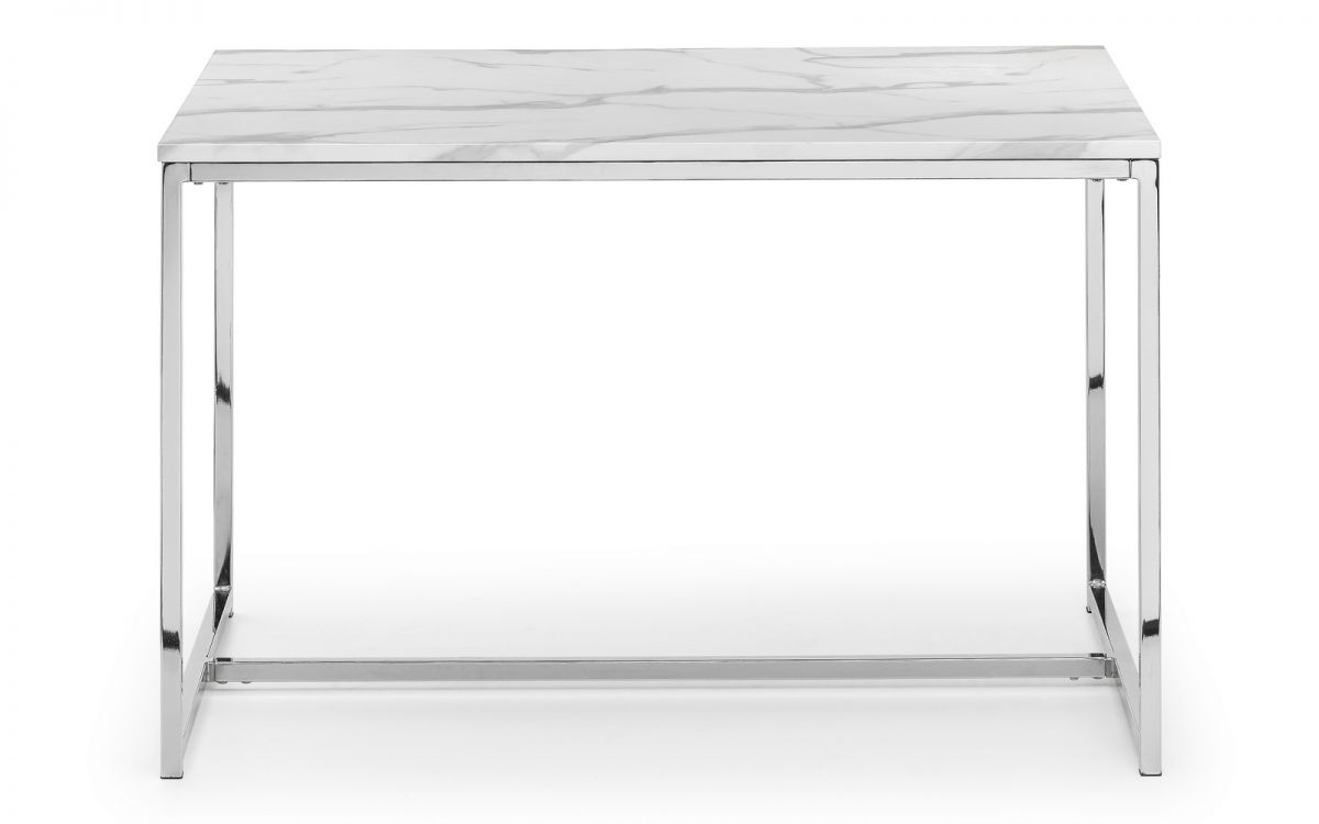 Scala Dining Table - White Marble