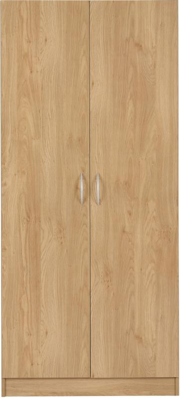Bellingham 2 Door Wardrobe - Oak