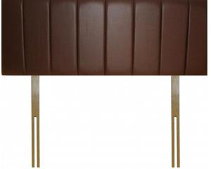 Pleated Headboard - Faux leather