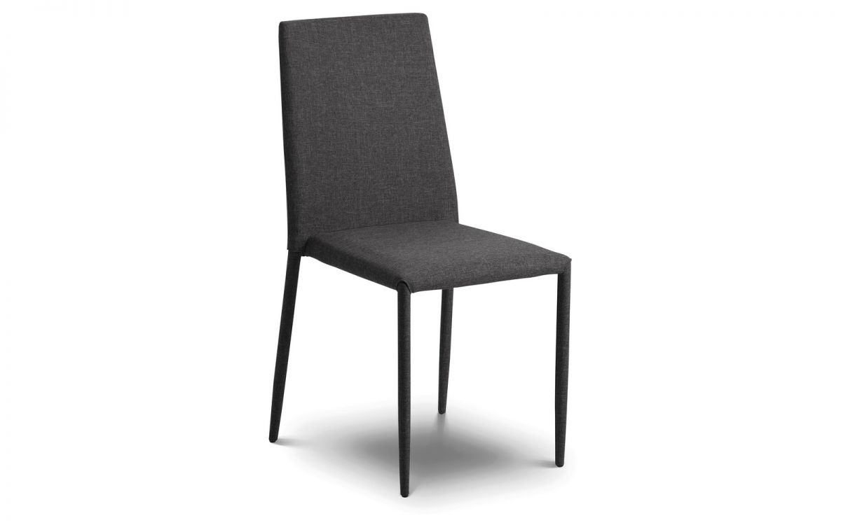 Jazz Dining Chair - Slate Fabric