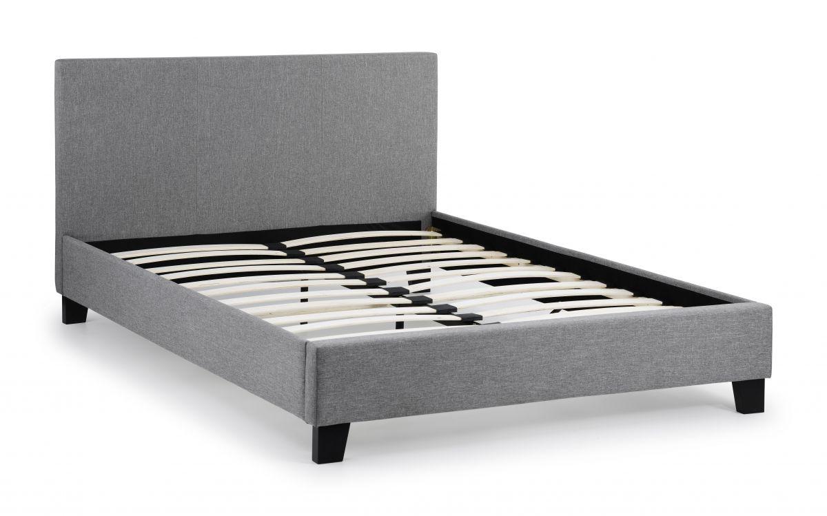 Rialto Bed - Grey Fabric
