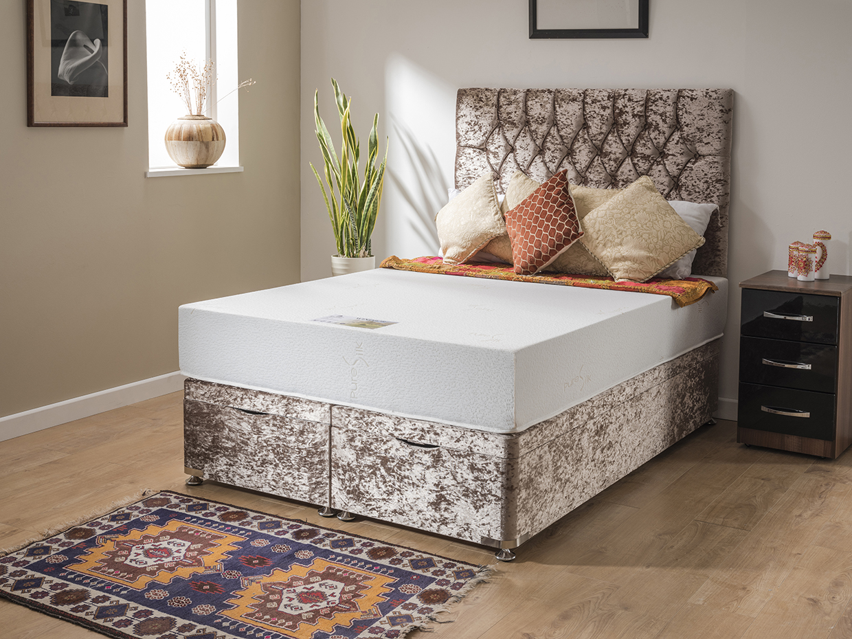 Windsor HD Memory Foam Divan Bed - Firm Feel