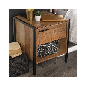 Hoxton Bedside – Distressed Oak Effect