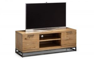 Brooklyn Media Unit – Solid Oak
