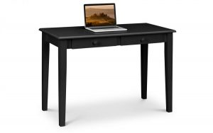 Carrington 2 Drawer Desk – Black