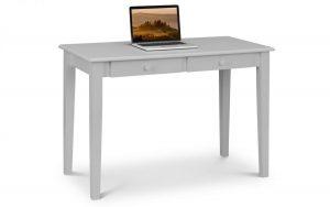 Carrington 2 Drawer Desk – Grey