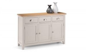 Richmond Sideboard – Grey – Solid Oak