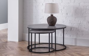 Staten Round Nesting Coffee Table