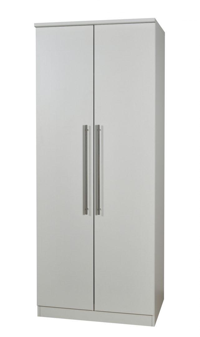 Sherwood 2 Door Wardrobe  - Matt Grey